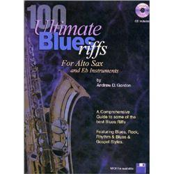 100 Ultimate Blues Riffs for Eb (alto) Saxophone