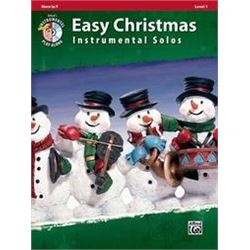 Easy Christmas Instrumental Solos, Level 1 Horn in F