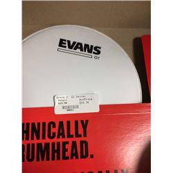 "Evans 8"" B08g1 batter coated Drum Head"