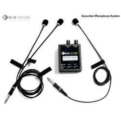 K & K  Accordion Microphone System