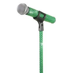 MicFX Decorative Sleeve for microphone and stand 2088 Green