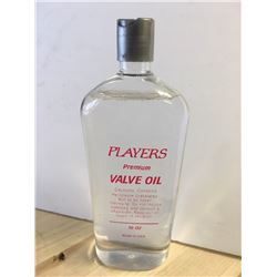 Players Valve Oil 16 oz
