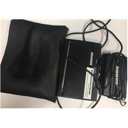 Shure Transmitter in Bag