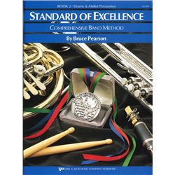 Standard of Excellence Book 2, Drums & Mallet Percussion - SIX BOOKS