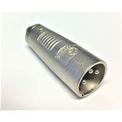 "Rapco XLR F to M  1/4"" Mono Adapter  HAGM"