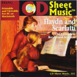 Haydn and Scarlatti Complete Keyboard Sonatas (CD)