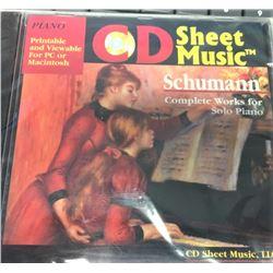 Shumann CD Sheet Music