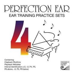 Perfection Ear 4: Ear Training Practice Sets – CD