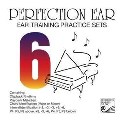 Perfection Ear 6: Ear Training Practice Sets – CD