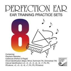 Perfection Ear 8: Ear Training Practice Sets – CD