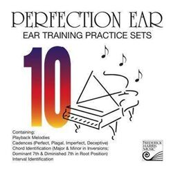 Perfection Ear 10: Ear Training Practice Sets – CD