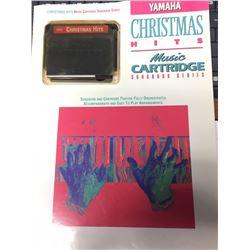 Yamaha Christmas HITS Music Cartridge Songbook Series for the Yamaha EZ Play Keyboard