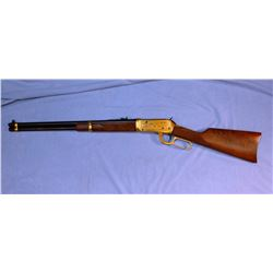"""Win. 94 SRC, .30-30, 20"""" bbl, Antlered Game Comm., sn AG19996, NIB, unfired, engraved gold receiver,"""