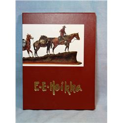 Earl E. Heikka book, Sculptor of The American West, 1990, 1st, fine, slip cover