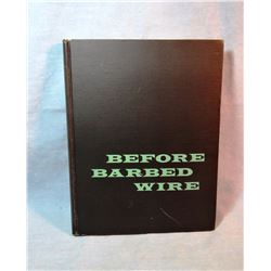 Huffman, L. A. Before Barbed Wire, 1956, Holt, 1st, no dj, near fine
