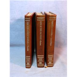 Time Life Classics of The Old West, 8 vol. set including Vigilantes of Montana, leatherette covers