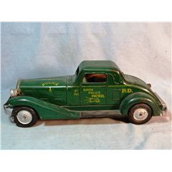 Louis Marx Siren Police Patrol car, original and restorable