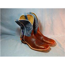 Tony Lama cowboy boots, 15D, new
