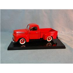 1948 Ford F-100 pickup, Road Legends, metal, hood and endgate open, spare tire, near mint