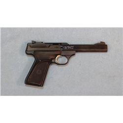 "Browning Buck Mark .22 LR semi auto pistol, 5 1/2"" bbl, rubber grips, sn 655NX24155"