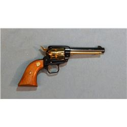 """Colt SAA Frontier Scout, .22LR, Missouri Comm., gold plated cyl, 4 3/4"""" bbl, sn: 1433MOS, unfired"""