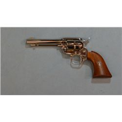 """Colt SAA Frontier Scout, .22, nickeled, 4 3/4"""" bbl, wood grips, sn: 36959K"""