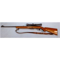 """Win. 88, .308 Win., lever action w/clip, Weaver K4 scope, 22"""" bbl, nice cond., sn: 1720"""