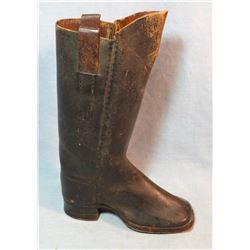 1860's salesman sample work boot, mint