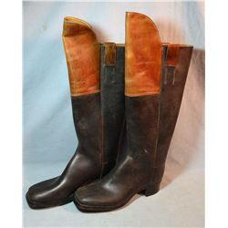 1860's work boots, 2 tone, nice