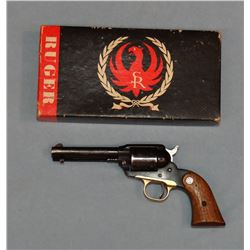 Ruger Bearcat, .22, sn: 90-21076, engraved cyl.