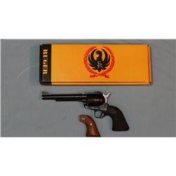 "Ruger New Model Blackhawk SAA, .41 Mag., 6 1/2"" bbl., sn: 46-83680, NIB, 2 sets of grips"