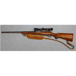 """Sturm Ruger M77 .22-250, 24"""" bbl., hvy barrel, Leopold scope, sling, sn: 77011898, good using gun"""