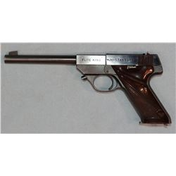 "High Standard Flite King, semi-auto pistol, .22 short, 6 3/4"" bbl, sn: 431322"