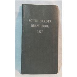 1937 South Dakota brand book