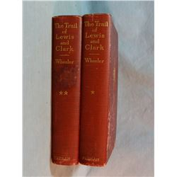 Wheeler, Olin D., The Trails of Lewis and Clark, 2 vols., 1st, 1904 , fold out maps
