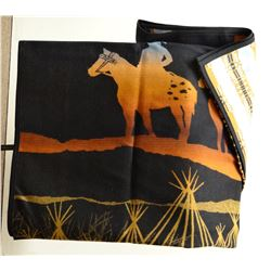 "Pendleton wool blanket, 64"" x 80"", Ltd. Ed. #137/1877, new in box"