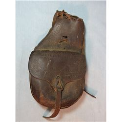Otto Ernst, Sheridan, WY saddle pockets, good condition for their age
