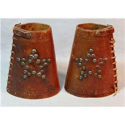 Cowboy cuffs, studded, unmarked