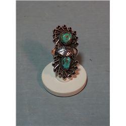 Turquoise ladies ring,