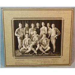 1937-38  Malta, MT boys basketball photo