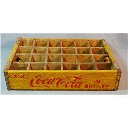 Wooden CocaCola box, Glasgow, MT