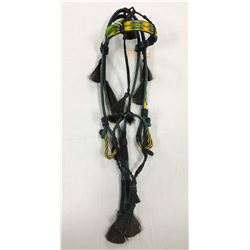 South Dakota hitched horsehair bridle, SD Prison made,