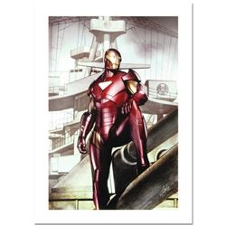 """Stan Lee Signed, """"Iron Man: Director of S.H.I.E.L.D. #32"""" Numbered Marvel Comics Limited Edition Can"""