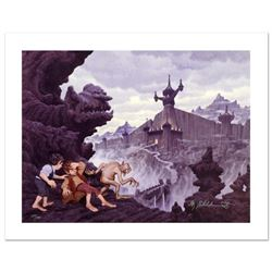 """""""City Of The Ringwraiths"""" Limited Edition Giclee on Canvas by The Brothers Hildebrandt. Numbered and"""