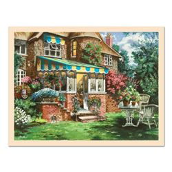 """Anatoly Metlan, """"Greenhouse"""" Limited Edition Serigraph, Numbered and Hand Signed with Certificate of"""