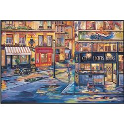 "Alexander Borewko- Original Giclee on Canvas ""Evening Elegance"""