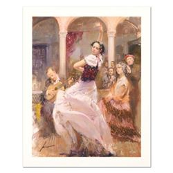 """Pino (1939-2010) """"Seville In My Heart"""" Limited Edition Giclee. Numbered and Hand Signed; Certificate"""