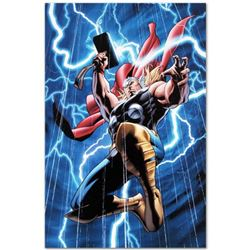 "Marvel Comics ""Marvel Adventures: Super Heroes #2"" Numbered Limited Edition Giclee on Canvas by Clay"