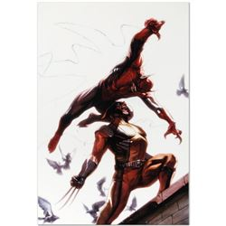 """Marvel Comics """"Secret Invasion #7"""" Numbered Limited Edition Giclee on Canvas by Gabriele Dell'Otto w"""