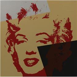 """Andy Warhol- Silk Screen """"Golden Marilyn 11.44"""""""